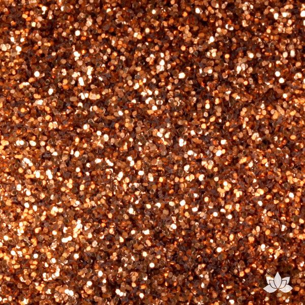 New Copper Disco Dust Pixie Dust. Disco Dust is a Non-toxic fine glitter for cake decorating that will add a touch of color to your fondant cakes & cupcakes.  Caljava Wholesale cake supply. FondX