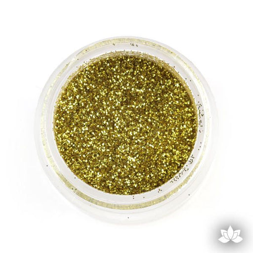 Nu Gold Disco Dust Pixie Dust. Disco Dust is a Non-toxic fine glitter for cake decorating that will add a touch of color to your fondant cakes & cupcakes.