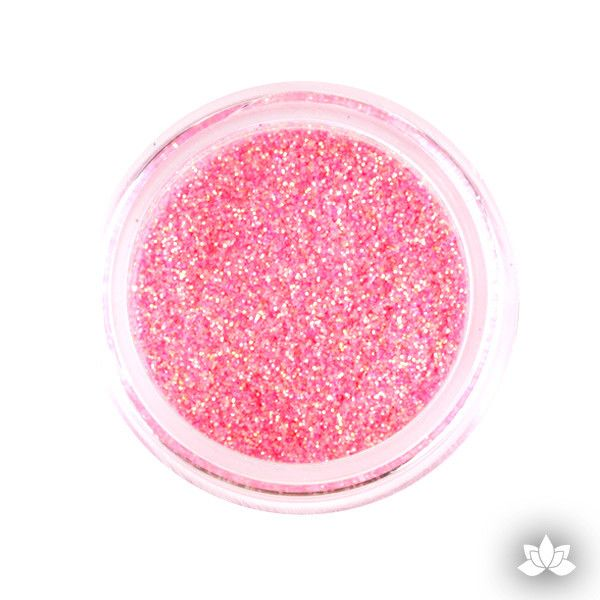 Peach Disco Dust Pixie Dust. Disco Dust is a Non-toxic fine glitter for cake decorating that will add a touch of color to your fondant cakes & cupcakes.