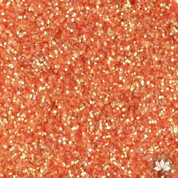 Pumpkin Disco Dust Pixie Dust. Disco Dust is a Non-toxic fine glitter for cake decorating that will add a touch of color to your fondant cakes & cupcakes.  Caljava Wholesale cake supply. FondX