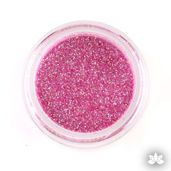 Raspberry soda Disco Dust Pixie Dust. Disco Dust is a Non-toxic fine glitter for cake decorating that will add a touch of color to your fondant cakes & cupcake