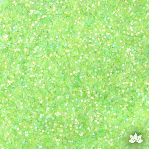 Sour Apple Disco Dust Pixie Dust. Disco Dust is a Non-toxic fine glitter for cake decorating that will add a touch of color to your fondant cakes & cupcakes.  Caljava Wholesale cake supply. FondX