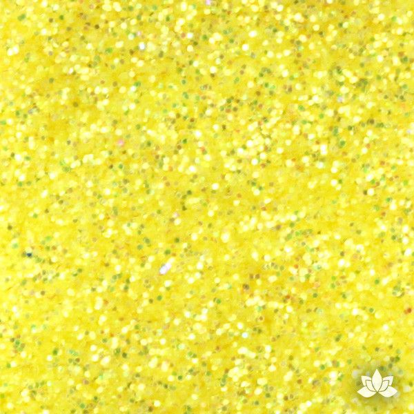Yellow Citrine Disco Dust Pixie Dust. Disco Dust is a Non-toxic fine glitter for cake decorating that will add a touch of color to your fondant cakes & cupcakes.  Caljava Wholesale cake supply. FondX