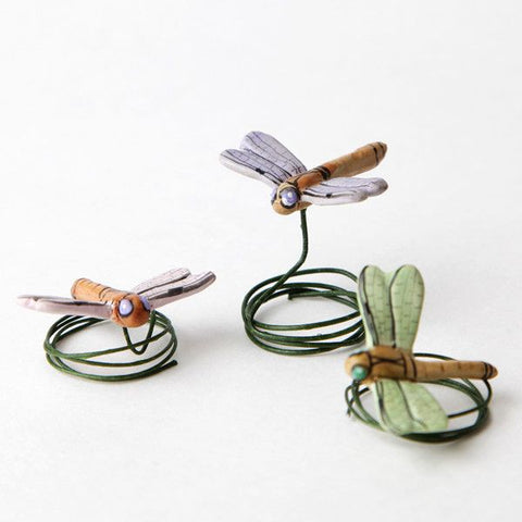 Ceramic Dragonflies - Mix Color