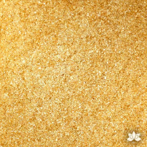 Dazzling Gold Diamond Dust Luster Dust colors for cake decorating fondant cakes, gumpaste sugarflowers, cake toppers, & other cake decorations. Wholesale cake supply. Bakery Supply. Lustre Dust Color.