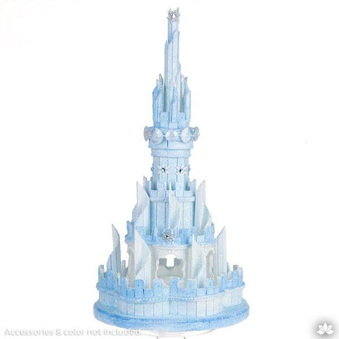 lightweight white castle cake topper perfect for cake decorating princess cakes fondant cakes lightweight white