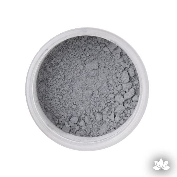 Dove Grey Petal Dust color food coloring perfect for cake decorating & coloring gumpaste sugar flowers. Caljava