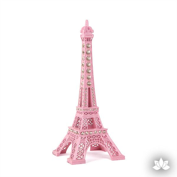 Eiffel Tower Cake Topper - Pink