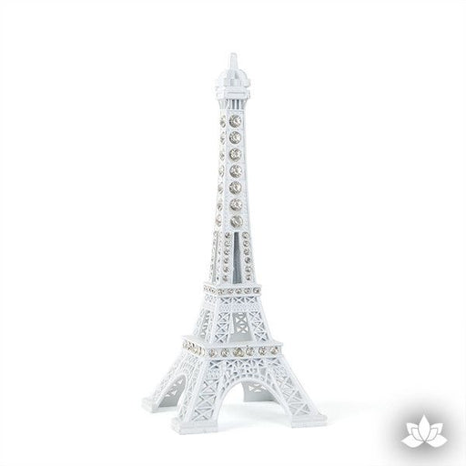 Eiffel Tower Cake Topper - White