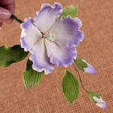 Hibiscus Spray Gumpaste Sugarflower Cake Topper great for cake decorating your own cakes. | CaljavaOnline.com