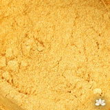 Super Gold Luster Dust colors for cake decorating fondant cakes, gumpaste sugarflowers, cake toppers, & other cake decorations. Wholesale cake supply. Bakery Supply. Lustre Dust Color.