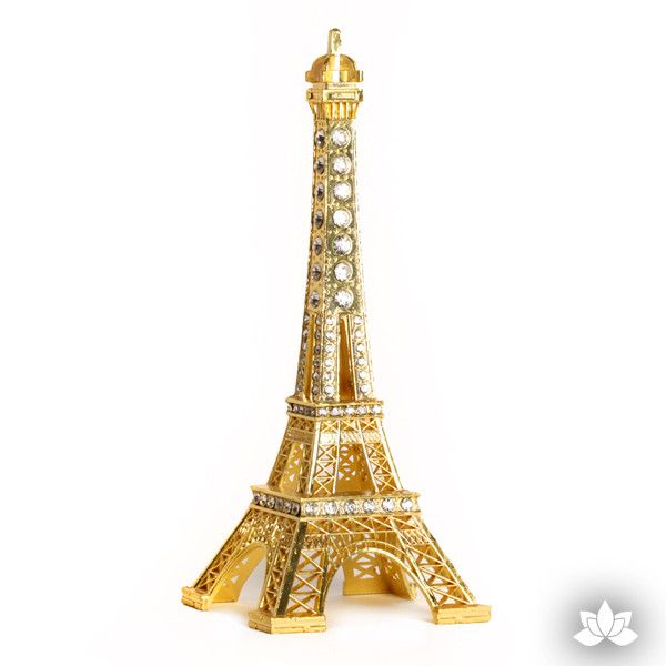 Gold Eiffel Tower Cake Topper perfect for Paris themed cakes