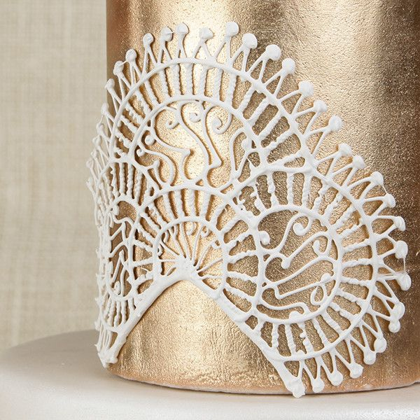 Filigree Lace Work cake decorating accent