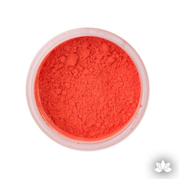 Flame Petal Dust color food coloring perfect for cake decorating & coloring gumpaste sugar flowers. Caljava
