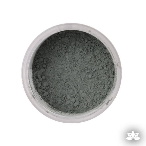 Forest Green Petal Dust color food coloring perfect for cake decorating & coloring gumpaste sugar flowers. Caljava