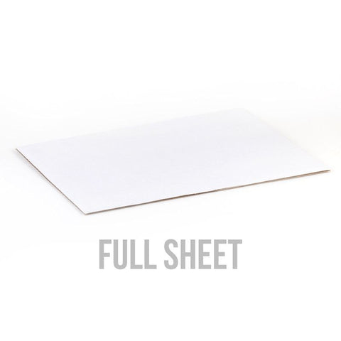 Full Sheet White Cake Board
