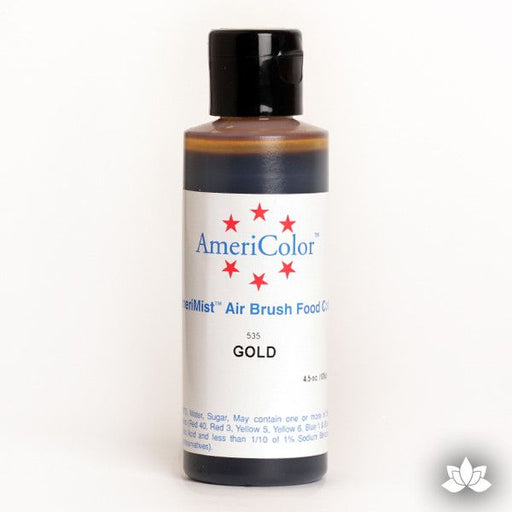 Gold Amerimist Air Brush Color