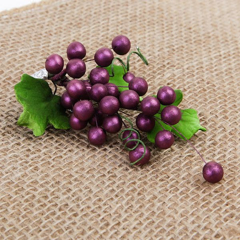 Bunch of Grapes - Burgundy