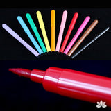 Mixed Color Edible Markers - americolor gourmet writer. Perfect for cake decorating. Cake supply. Caljava