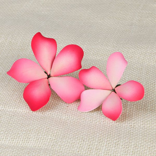 Hawaiian Bloomed Plumerias - Pink