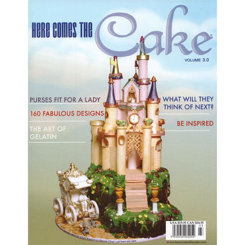 Here Comes The Cake Volume 3 Cake Book.  A collection of the best designs of cakes from around the world. Caljava