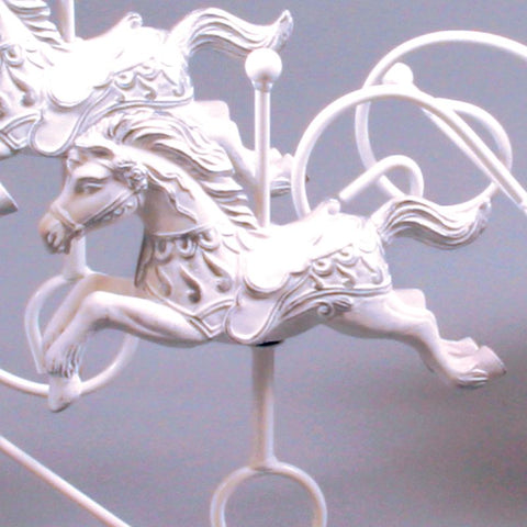 Ivory Gold Replacement Ceramic Horse