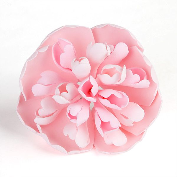 Pink Heirloom Peony Sugarflower cake topper perfect for cake decorating fondant cakes. Wholesale sugarflowers. Caljava