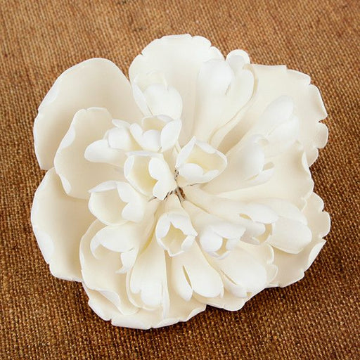 Large Heirloom Peonies are gumpaste sugarflower cake decorations perfect as cake toppers for cake decorating fondant cakes and wedding cakes. Caljava wholesale cake supply.
