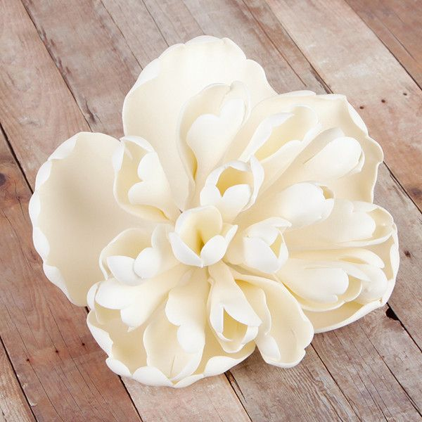Extra Large Heirloom Peonies are gumpaste sugarflower cake decorations perfect as cake toppers for cake decorating fondant cakes and wedding cakes. Caljava wholesale cake supply.