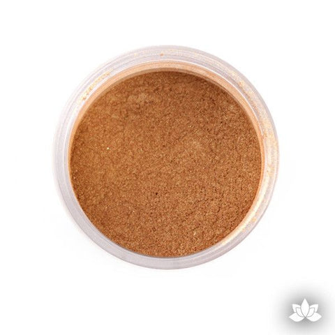 Honey Luster Dust colors for cake decorating fondant cakes, gumpaste sugarflowers, cake toppers, & other cake decorations.  Wholesale cake supply.  Bakery Supply.  Lustre Dust Color.