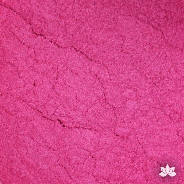 Hot Pink Luster Dust color perfect for adding accents to your cakes and cupcakes.  Wholesale cake supply.  Lustre Dust Color.