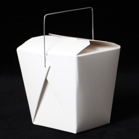 Take-Out / Cupcake Boxes - White