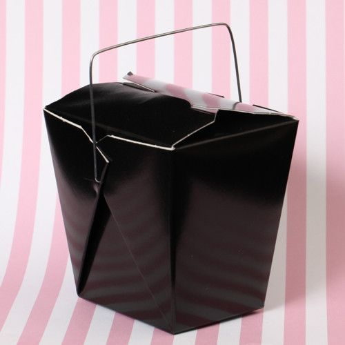 Disposable cupcake boxes. Transport & display cupcakes in beautiful cupcake boxes. Chinese take out box. Party favor box. Cookie Box. Dessert Box. Gift Box. Black Chinese take out cupcake box.