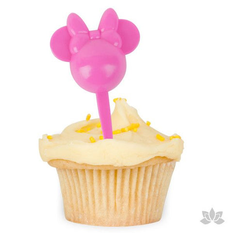 Minnie Mouse Cupcake Picks