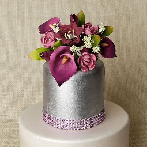 Medium Lily Cake Topper - Mauve