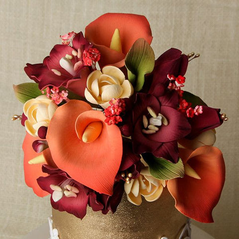 Large Lily Cake Topper - Red