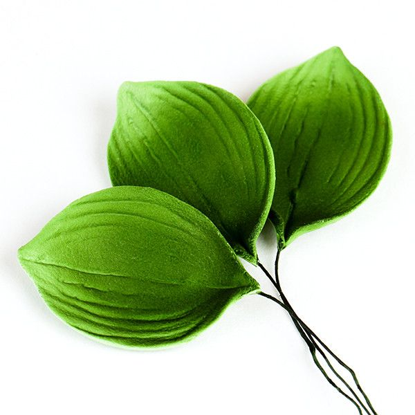 Orchid Leaf Sugar flower cake toppers great for cake decorating your own cake. Edible cake topper made from gum paste used for making your cake designs.