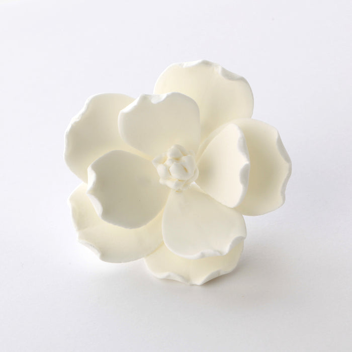 White Gumpaste Magnolia handmade gumpaste Sugar flower cake topper decoration.