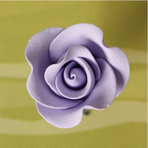 Small Tea Roses - Lavender