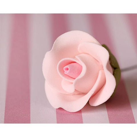 Small Tea Roses - Pink