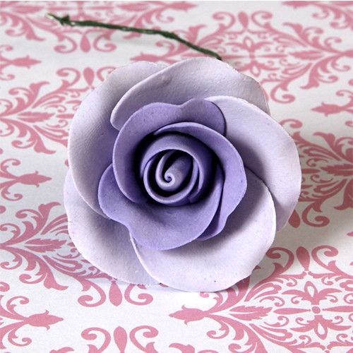 Medium Tea Roses - Lavender