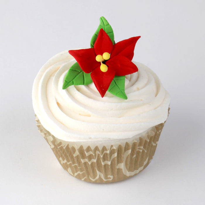Mini Sugarflower Toppers great for decorating cupcakes, cakes and other edible creations.