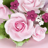 Medium Garden Rose Toppers - Pink