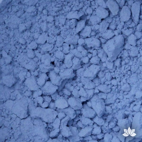 Marine Blue Petal Dust food coloring perfect for cake decorating & painting gumpaste sugar flowers. Caljava