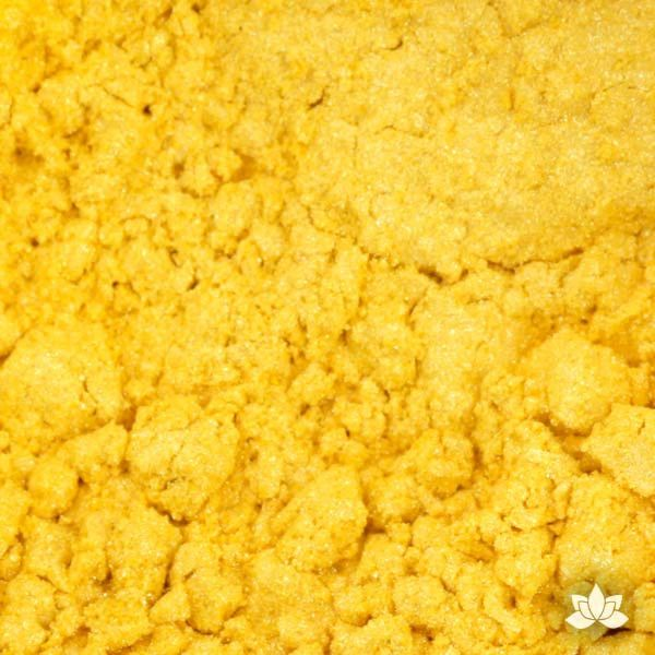 Mimosa Luster Dust colors for cake decorating fondant cakes, gumpaste sugarflowers, cake toppers, & other cake decorations. Wholesale cake supply. Bakery Supply. Mimosa Yellow Lustre Dust Color.