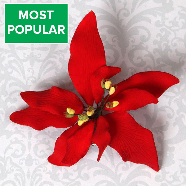 Small Poinsettia - Red