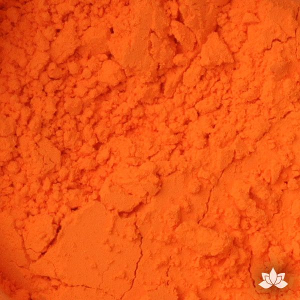 Orange Petal Dust food coloring perfect for cake decorating & painting gumpaste sugar flowers. Caljava
