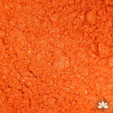 Orange Luster Dust colors for cake decorating fondant cakes, gumpaste sugarflowers, cake toppers, & other cake decorations. Wholesale cake supply. Bakery Supply. Orange sherbet Lustre Dust Color.