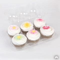 Clear Cupcake Container