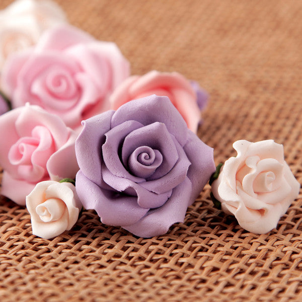 Petite Unwired Roses - Assorted Colors